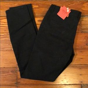 Mossimo black low rise skinny
